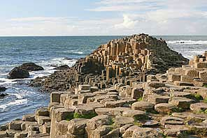 The dramatic Giants Causeway